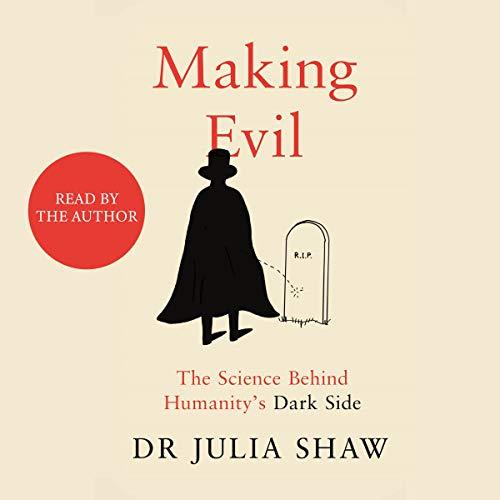 Making Evil audiobook cover art