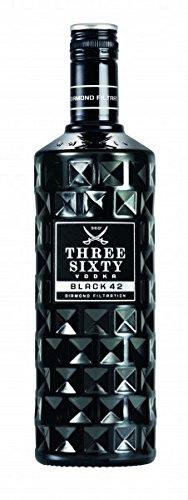 Three Sixty Vodka BLACK EDITION 42% 0,7l