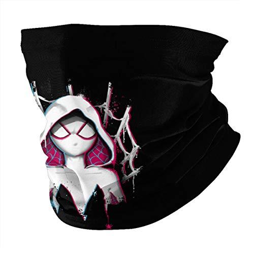 Antokos Rubie G-Wen Stacy Unisex reutilizable ajustable cara cubierta bufanda protección UV cuello pasamontañas 3d impreso variedad cabeza bufanda