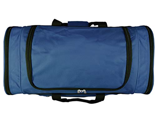 Roamlite Extra Large Holdalls - Big XL Size Gym Kit-Bags for Training and Sports - 66 cm x30x30-65 Litre - RL58NNA (Large, Navy)