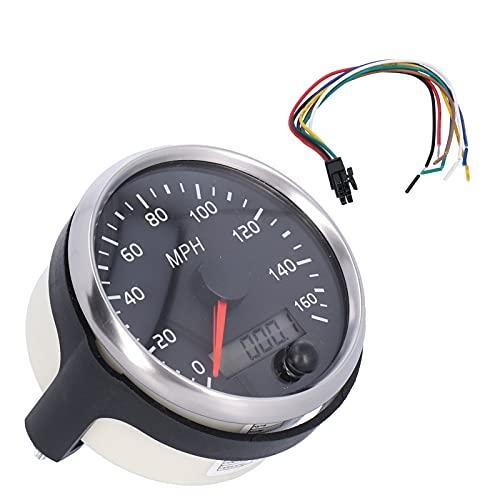 KUIDAMOS Compteur de Vitesse GPS, Compteur de Vitesse 12V/24V Compteur de Vitesse vélo Haute fiabilité pour Machines agricoles pour Machines de Construction