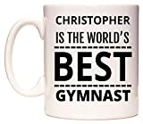 WeDoMugs Christopher is The World's Best Gymnast Becher
