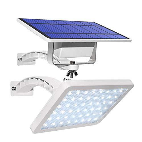BRYSJ 48 LED 800lm Garten Yard Wandmontierte LED-Sicherheitsbeleuchtung Solar LED Outdoor Wandleuchte mit einstellbarem Beleuchtungswinkel