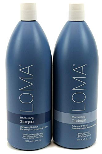 Loma Hair Care Moisturizing Shampoo and Moisturizing DUO PACK