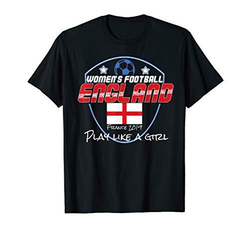 England FrauenFußball Trikot 2019 Englisches Fußball T-Shirt