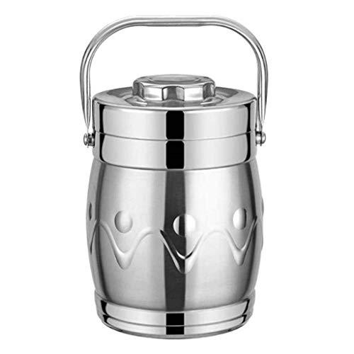 Thermohouder voor etenswaren thermosfles lekvrij vacuüm flesk soep met handvat isolatie lunchbox roestvrij staal voedsel container voor eten thermohouder voor eten