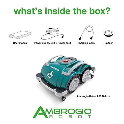 Ambrogio Mähroboter L60 Deluxe – ohne Begrenzungskabel - 5
