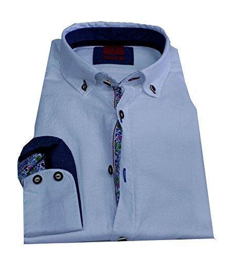 OLYMP Luxor Hemd, Bodyfit, Casual, Trachtenhemd (XXL)