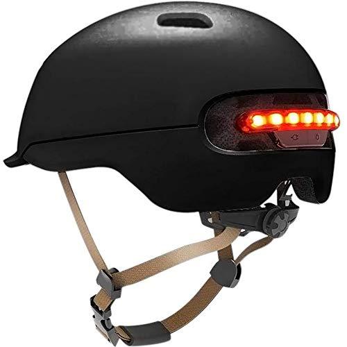Casco De Bicicleta De Carga USB con LED para XIAOMI M365 IPX4...