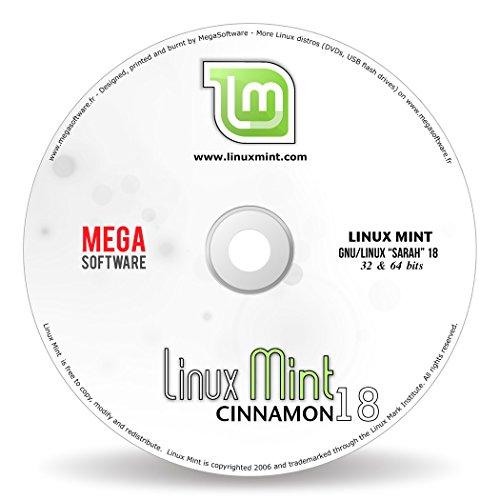 Linux Mint 18 Live - Cinnamon - 32 & 64 bits - DVD