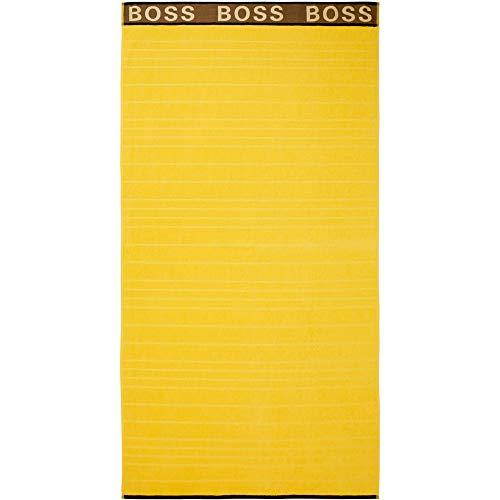 Boss - Toalla de baño, diseño de rayas