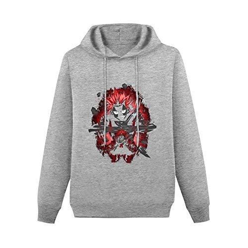 Lyehb Boku No Hero Academia - Iida Tenya Men Round Neck Pullover Sweatshirt, LightweightGift for Boyfriend Gray-style1 2XL