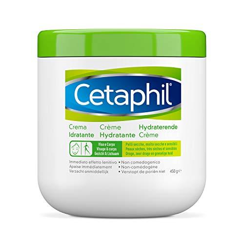 Cetaphil, Crema Idratante Viso e Corpo ideale per Pelle Secca