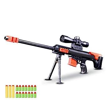 Toy Gun Military Combat Barrett Sniper Rifle Children Outdoor CS Soft Bullet Toy Sniper Rifle