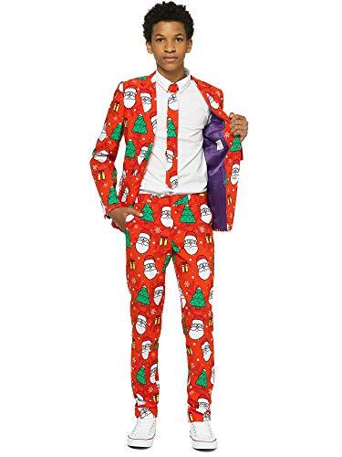 OppoSuits Jungen Men Suit Business-Anzug Hosen-Set, Holiday Hero, 10