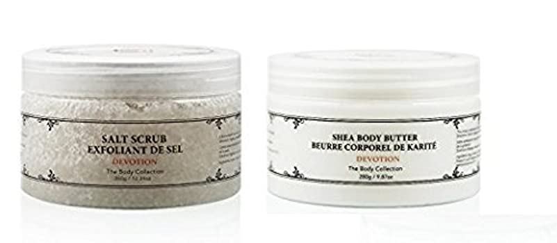 インゲン快適実施するVivo Per Lei Body Butter + Body Scrub Set DEVOTION [並行輸入品]