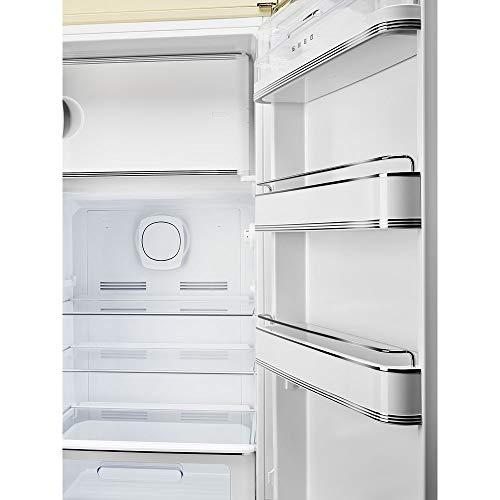 Réfrigérateur 1 porte Smeg FAB28RYW3 - Réfrigérateur 1 porte - 270 litres - Réfrigerateur/congel : Froid brassé / Froid statique - Dégivrage automatique - Jaune - Classe A+++ / Pose libre