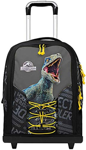 Jurassic World. Double by Gut School Backpack 2020 Collection + Zip Case + Free Whistle Key Holder + Free 10 Coloured Pens