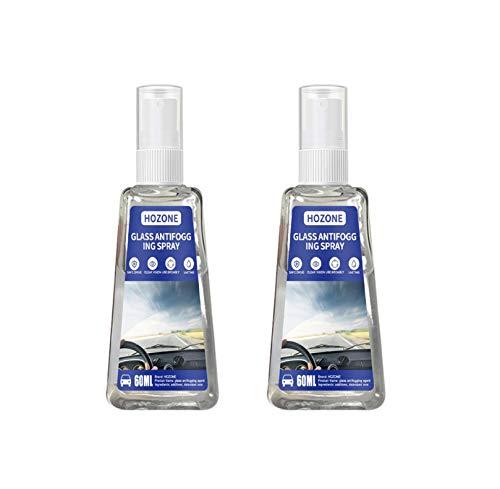 LQQ Anti-Beschlag-Glasspray, 30 ml/60 ml, feine Beschichtung von Anti-Beschlag-Spray für Brillen und Brillen, tragbarer Linsenreiniger (2, 60)