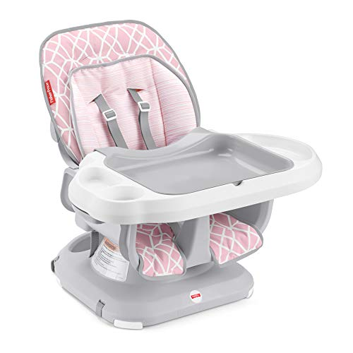 Review Fisher-Price Deluxe Spacesaver Infant to Toddler High Chair Gemstone Convertible Infant-to-To...