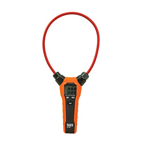 Klein Tools CL150 Clamp Meter, AC Electrical Tester with 18-Inch Flexible Clamp, True RMS Readings, Auto Ranging and More