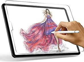 Paperfeel Screen Protector Compatible with iPad Pro 12.9 (2020 & 2018), XIRON High Touch Sensitivity No Glare Scratch Compatible with iPad Pro 12.9 Matte Screen Protector, Compatible with Apple Pencil