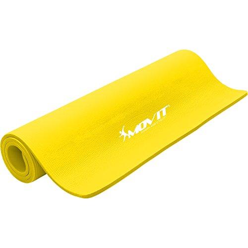 Movit® Tapis de Gymnastique Pilates, Tapis de Yoga, sans phtalate, 190 x 60 x 1,5 cm ou 190 x 100 x 1,5 cm, en 12 Couleurs différentes