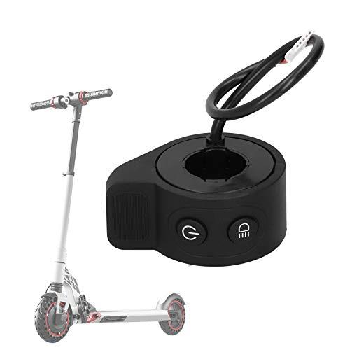 Seacanl Reemplazo del Acelerador del Acelerador, Acelerador de Scooter eléctrico Duradero con 5 Salidas para Scooter eléctrico para Hombre