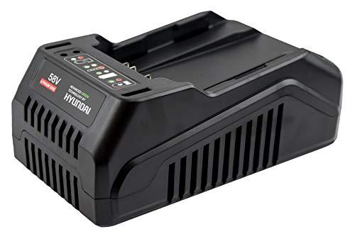 Hyundai HY-C2001-58-LI oplader 58 V 2 Ah voor tuingereedschap met accu, zwart