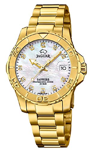 Jaguar Reloj Mujer Dorado - Ref J898/1