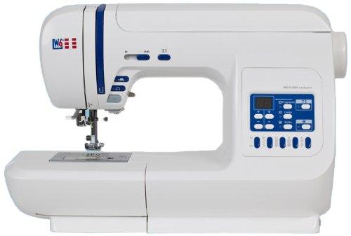 Preisvergleich Produktbild W6 WERTARBEIT N 3300 Computer-Nähmaschine (Nähen,  Patchen,  Quilten (120 Programme)) weiß