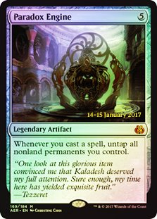 Magic: The Gathering - Paradox Engine - Foil - Prerelease Promo