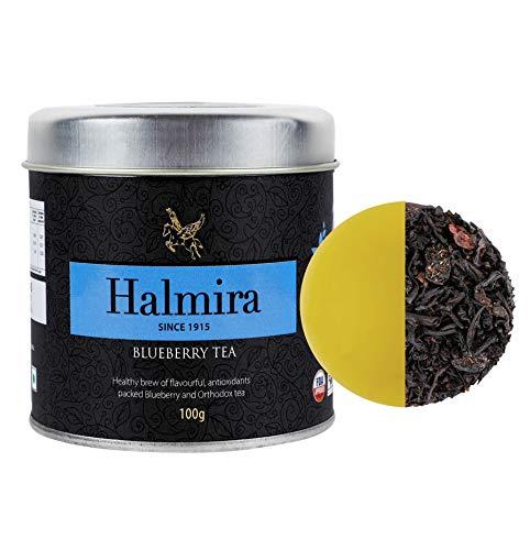 Halmira Blueberry Fruit Infusion Tea | Blueberry Tea, 100 Gram