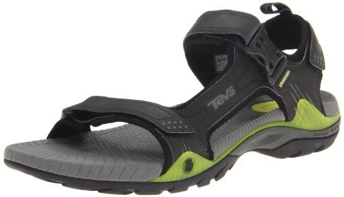 Teva Herren Toachi 2 M's Sport- & Outdoor Sandalen, Grau (695 Charcoal Grey), 43
