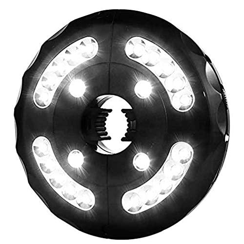 Zelt-licht, Gartenschirm-licht Führt Regenschirm Lampe Zelt Drahtlose Lampe USB Camping Licht Für Outdoor-Camping-zelte Beleuchtung Verwenden Black