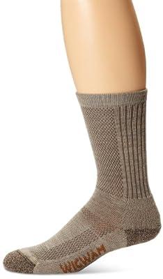 Wigwam Men's Merino Trailblaze Pro Socks,Khaki,Large /shoe Size:Men's 9-12,Women's 10-13