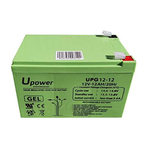 Bateria Plomo Gel 12Ah 12V