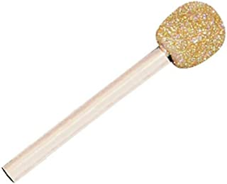 Fun World Unisex-Adult's Glitter Microphone, Multi, Standard