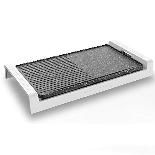 Kitchen supplies Elektrischer Grill , multifunktionaler 1600W-Überhitzungsschutz Antihaft-Rauchfrei Rauchfreier elektrischer Senggrill , Mit 5 Gängen Temperaturregelung Innengrill