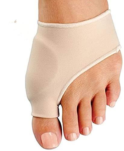 Corrector de juanetes: alivio de juanetes, desintoxicación, almohadillas de funda de juanete y juanetes de dedos con gel euronatural (2 pares)