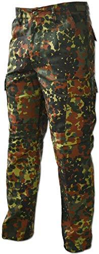 normani Lange Jagdhose Jägerhose aus robustem Baumwollmischgewebe Farbe Flecktarn Größe XS