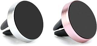 Xinlie Handyhalterung Auto Magnet Lüftung KFZ Halterung Universal Magnetic Universal Smartphone Halterung für iPhone 7 / 6s/6 / 5s / 5,Samsung S8 und jedes andere Smartphone oder GPS Gerät (2 Stück)