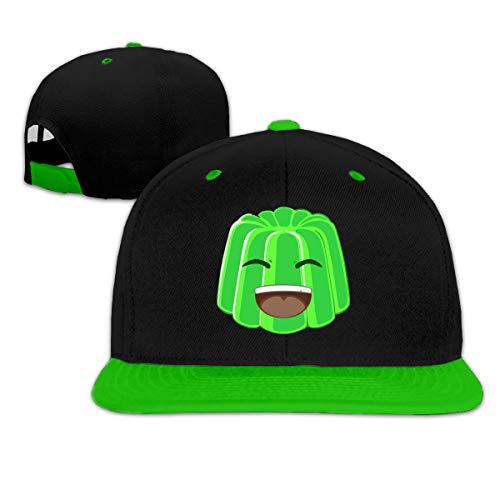 Meeting Boys and Girls Hip Hop Hats Crazy-Jelly Adjustable Snapback Sun Helmet Baseball Cap YOUTUBER-03