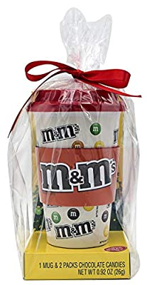 M&Ms Christmas Gift Set With Ceramic Travel Mug