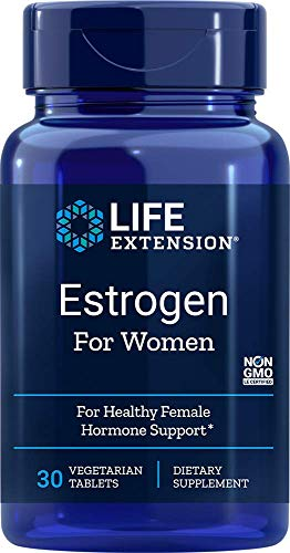 Life Extension Estrogen for Women, 30 Vegetarian Tabs 01894