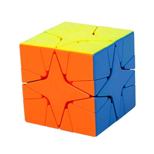 IPOTCH Cubo de Mágico de Hoja de Arce Cubo Mágico Juguetes de Mejora de Inteligencia de Cubo de Bricolaje - Polaris