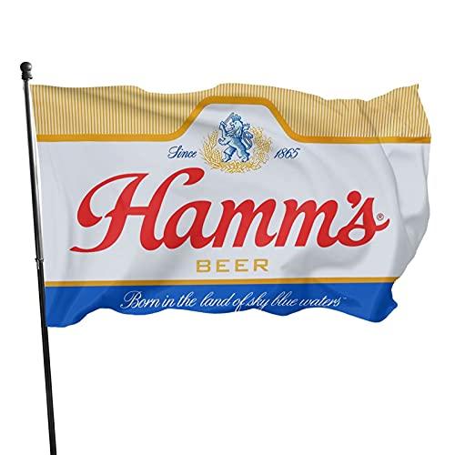 HESMENO Astany Hamm'S Beer Flag 2021 - Bandera de cerveza (3 x 5 pies)