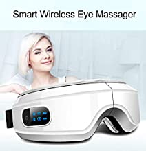 YOMYM Electric Portable Eye Massager with Heating Air Pressure Music Vibration, Shiatsu Massager for Dry Eye Eyestrain Fatigue Relief