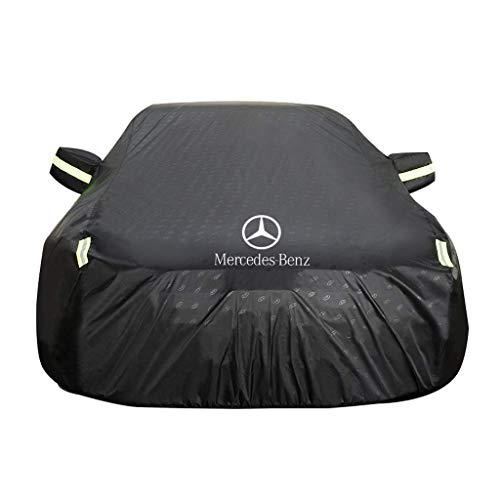 GAHFG Autoabdeckung Mercedes Benz AMG CLA Wasserdichter Kratzfest Durable Atmungsaktive Baumwolle Gefüttert