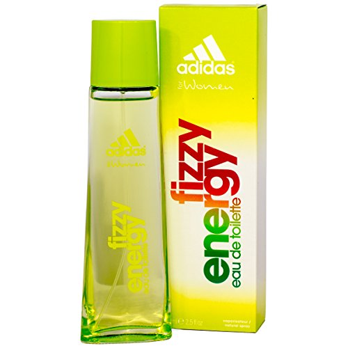Adidas Fizzy Energy for Women Eau de Toilette Spray, pack de 1 (1 x 75 ml)